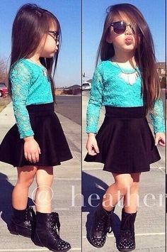 Cute outfit for little girl!