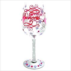 Princess Wine Glass - $19.99