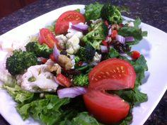 Broccoli and Walnut Salad - recipe from @Springfield Clinic