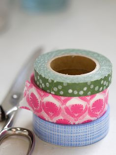 Set of three Washi Tapes  Made in Japan   $12