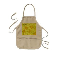 #flower - #Yellow Flower Kids' Apron