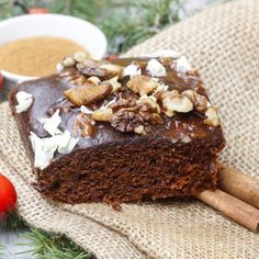 Brownies chocolat-amandes-noisettes