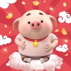 Pig Wallpaper, Apple Wallpaper, Disney Wallpaper, This Little Piggy, Little Pigs, Cute Piglets, Pig Illustration, Animated Dragon, Baby Pigs