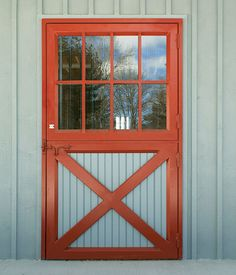 Outer stall door