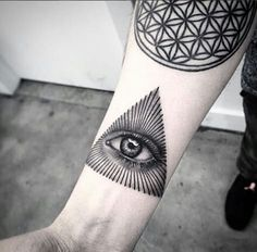 tatuajes hipsters / Ojo