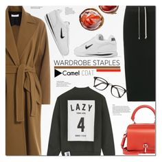 """""""Tried and True: Wardrobe Staples"""" by monica-dick ❤ liked on Polyvore featuring DRKSHDW, Carven, IRO, NIKE and Studio Concrete"""