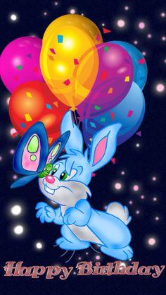 Happy Birthday Fireworks, Happy Birthday Ballons, Animated Happy Birthday Wishes, Happy Birthday Disney, Free Happy Birthday Cards, Happy Birthday Wallpaper, Cute Happy Birthday, Happy Birthday Celebration, Happy Birthday Wishes Quotes