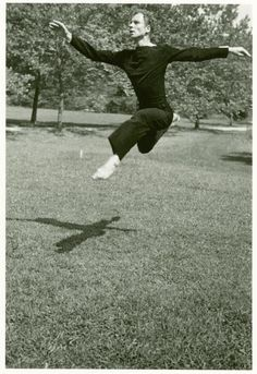 Merce Cunningham at Black  Mountain College From New York Public Library Digital Collections.