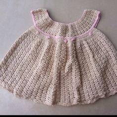 Chochet baby girl dress
