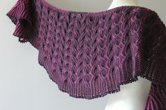 Ravelry: Project Gallery for Flaming Shawl pattern by Lady in Yarn