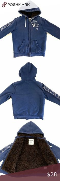 HAWKE /& CO.® Boy/'s 4T Blue Arm Stripe Puffer Jacket NWT $80
