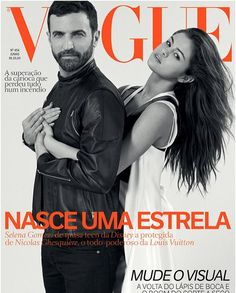 My cover for @voguebrasil with @nicolasghesquiere ❤️ exciting things coming with this brilliant man.