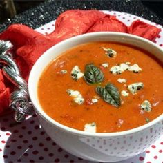Cream of Tomato Gorgonzola Soup - Allrecipes.com