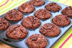 Breakfast Muffins: 8 Recipes for a Great Way to Start the Day - Part 3 Chocolate Muffins, Chocolate Recipes, Vegetarian Food List, Baby Food Recipes, Cooking Recipes, My Favorite Food, Favorite Recipes, Recipe For 1, Dukan Diet