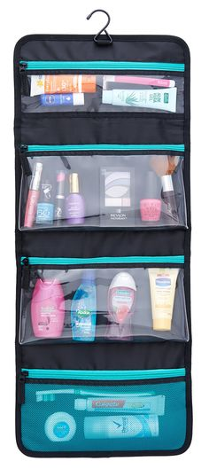 Sea-Breeze Hanging Toiletry Organizer $24.99                                                                                                                                                                                 More