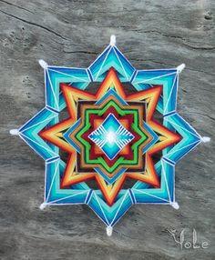 Aliado del sueño Mandala Ojo de Dios 11 pulgadas Boho pared