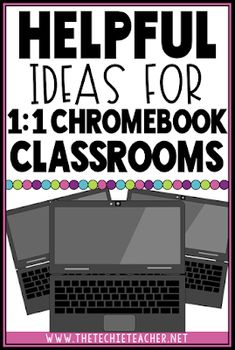 Helpful Ideas for Chromebook Classrooms Has your classroom turned into a Chromebook Classroom and you are unsure of how to utilize these devices each day? Come learn about some meaningful ways to integrate these devices into your elementary classroom! Teaching Technology, Teaching Tools, Educational Technology, Teaching Ideas, Instructional Technology, Teaching Strategies, Technology In Classroom, Technology Posters, Technology Humor
