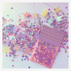 handmade confetti - papered thoughts.