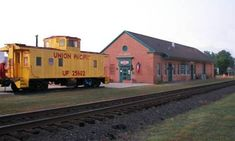 Union Pacific Caboose in Atlanta, Texas
