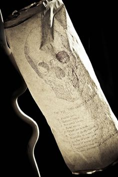 Halloween Parchment ~ Eerie Light