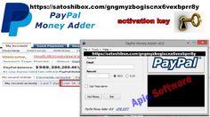 Chave Livre de Acesso ao PayPal Money Adder