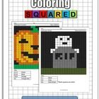 A free sample of our math coloring pages featuring a Halloween theme. There are up to 380 problems per puzzle. Fun way to practice math.   Practice...