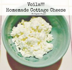 How to Make Cottage Cheese and Sour Cream from Raw Milk (You won't believe how easy it is!)