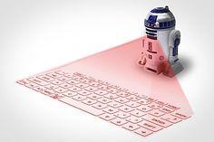 Ein neues Star Wars Gadget: Das virtuelle R2-D2-Keyboard