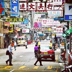 """@ed_kruger's photo: """"NATHAN ROAD, HONG KONG"""""""
