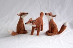 neddle feltes fox by jenny barnett