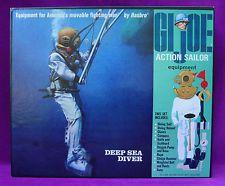 "GI JOE Deep Sea Diver #7620 Hasbro  12"" 1/6 scale set Vintage 1968 MIB"