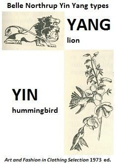 (expressingyourtruth.cropped,click to see whole diagram)the related yin yang systems use similar yin yang examples & some are also seen in belle northrup articles & belle northrup yin yang section in harriet mcjimsey books.diagram of belle northrup yin & yang includes YIN=hummingbird,YANG=lion. similar to caygill, #dyt,illuminessensce( http://pinterest.com/pin/525021269029756699 ).violet also in pinckney & swenson,carole jackson;too many more to list.to northrup, yang=force/strength;yin=deli...