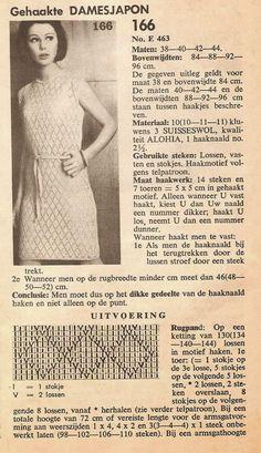vintage jurk, haken, patroon, zelf maken