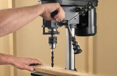 Our experts review and compare the top drill presses. Read the full review on http://www.thediyhubby.com/drill-press-reviews/  #drillpress
