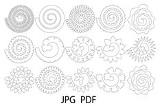 Obtain Rolled Paper Flower Templates SVG, Rose SVG, Origami Rose as we speak! We've got an enormous vary of Paper Slicing merchandise out there. Free Paper Flower Templates, Felt Flower Template, Flower Svg, Templates Printable Free, Flower Crafts, Owl Templates, Applique Templates, Butterfly Template, Applique Patterns