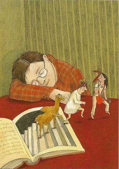 Illustration de Katja WEHNER, artiste allemande. Site de l'artiste : http://www.katjawehner.de