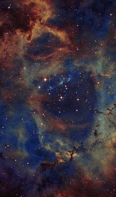 NGC2244 - the Heart of the Rosette Nebula