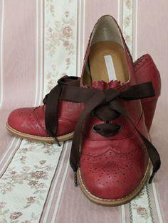 Victorian maiden lolita shoes