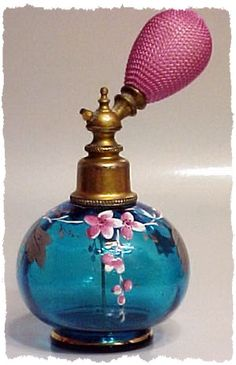 Antique & Vintage Collectible Perfume Bottles & Atomizers from fancy4glass