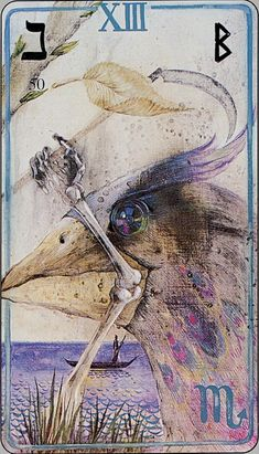 i have this deck and its extremely intense but I was instantly drown to its energies. Death - Haindl Tarot