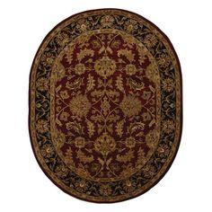 Safavieh Heritage Red/Black Rug   Wayfair