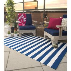 Indoor/outdoor rug - A Collection by Anglina - Favorave