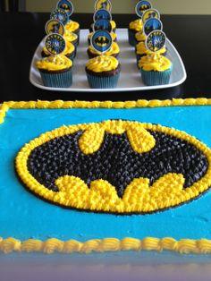 Birthday Cake For A 4 Year Old Boy Superheros Batman