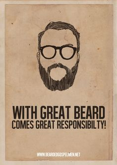Minimalist Posters Of Hilarious Quotes About Why Beards Are Great