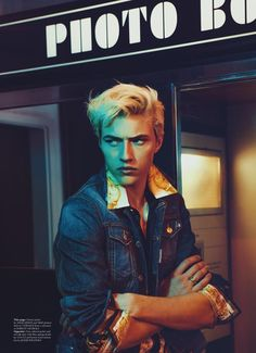 Lucky Blue Smith for Wonderland