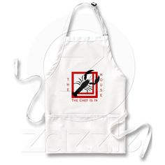 Personalize this Lobster Chef Is In the House Apron with your text or choose as is.