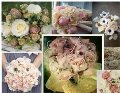 shabby chic bouquets