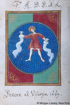 Book of Hours, MS G.14 fol. 1v - Images from Medieval and Renaissance Manuscripts - The Morgan Library & Museum