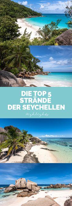 Das sind die 5 schönsten Strände der Seychellen, inklusive den Traumstränden Anse Source d'Argent und Anse Marron.