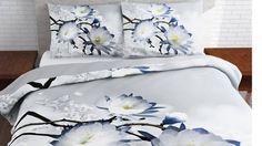 Winter Flower flanel dekbedovertrek
